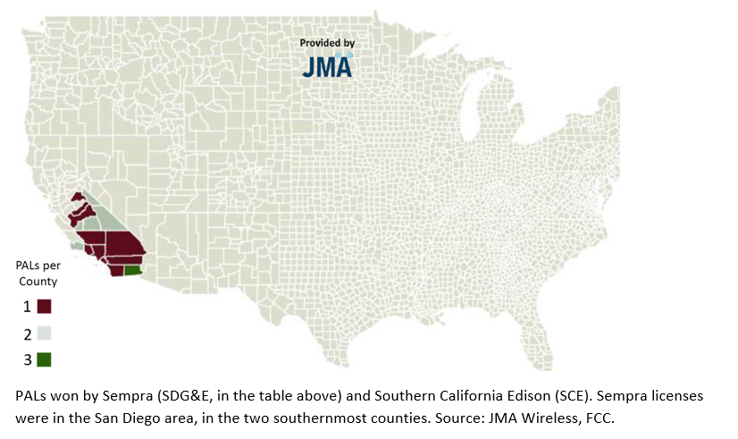 Utilities like Sempra and Southern California Edison had an extremely sharp focus, defined by their service area.
