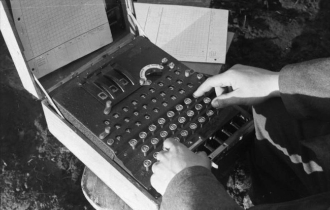 Before the internet, encryption was extensively used to protect military communications.